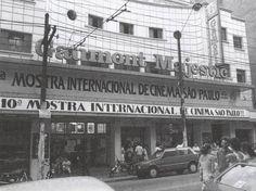 Cine Gaumont Majestic, na rua Augusta, em 1986.