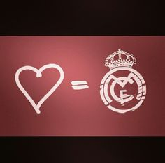 Real madrid = ♥