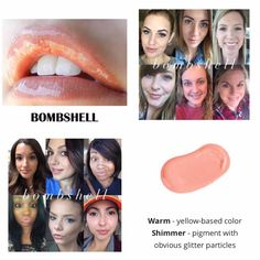 Bombshell LipSense.  Kiss-proof, waterproof, smudge-proof lipstick that last up to 18 hours.  Vegan and hydrating.  Order here.