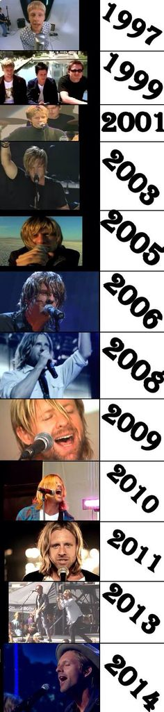Through the years :)