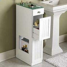 Over Toilet Bathroom Organizer   Over toilet and sink saver organizer creates storage in small spaces ...