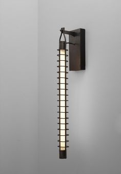 """Franco Albini, Wall Light from the Staircase of the """"INA"""" office building in Parma, 1953/54. Italy"""