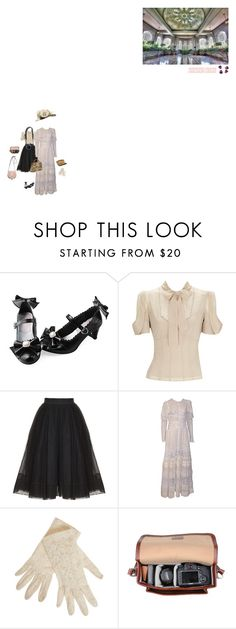 """""""A Trip to Casa Loma"""" by xsarahholicx ❤ liked on Polyvore featuring Martin Grant, 1901, Reef, Chloé and vintage"""