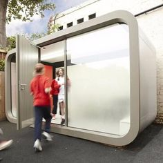 Office Pod | Working Environments Furniture - These pods are available in a variety of sizes from single occupancy up to meeting spaces for 10 people. Can be specified for indoor or external use. Great soundproofing and fantastic aesthetics Office Pods, Types Of Rooms, Commercial Furniture, Sound Proofing, Flexibility, Aesthetics, Indoor, Spaces, Box