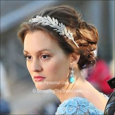 headbands for girls | ... headband as Blair Waldorf, seen here filming 'Gossip Girl' on location