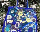 sac en freeform crochet : Sacs à main par mamita