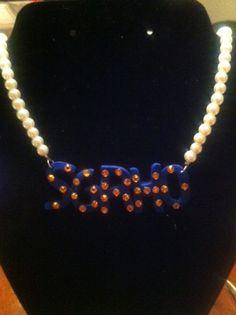 Sigma Gamma Rho Inspired Necklace