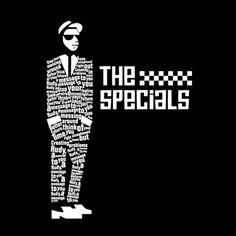 Punk Rock Typography by Tyce Jones, via Behance Gorillaz, Coventry, Ska Music, Concert Posters, Music Posters, Ska Punk, Pochette Album, Rude Boy, Northern Soul