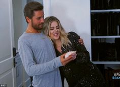 So inappropriate: Khloe and Scott were having fun even though it appeared inappropriate