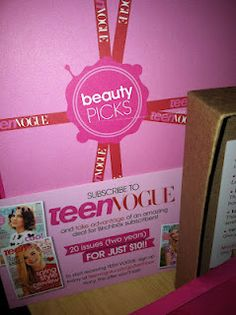 Teen Vogue Beauty Picks ...Premae Pristeen Face Balm (ust prophesizing)
