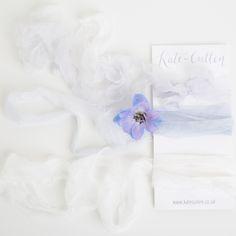 silk chiffon ribbon by kate cullen