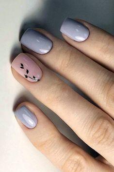 Chic Nails, Stylish Nails, Trendy Nails, Gel Manicure Nails, Toe Nails, Classy Acrylic Nails, Toe Nail Color, Square Nail Designs, Nail Art Designs Videos