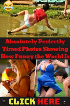 """We found perfectly timed photos that will make you want to walk around and look for an opportunity to snap your own. Which of these do you think deserves to be named as """"The Most Perfectly Timed Photo of All Time""""? Funny Photos Of People, Funny Images, Funny Pictures, Best Memes Ever, Perfectly Timed Photos, Wedding Humor, Funny Fails, Funny Moments, The Funny"""