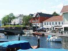 Brevik (help·info) is a town in Telemark, Norway, The Old Norse form of the name may have been *Breiðvík, where the first element is breiðr 'broad' and the last is vík f 'inlet'.