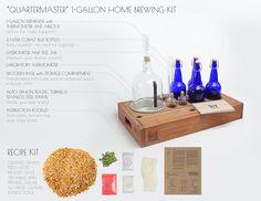 Handcrafted Homebrewing Kits - The QuarterMaster Craft Beer Making Kit – Box Brew Kits