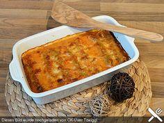 Vegetarisch gefüllte Cannelloni