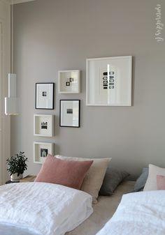 Asuntomessut 2017 - Yksityiskohtia ja kauniita näkymiä | Esmeralda's Design Closet Bedroom, Cozy Bedroom, Kids Bedroom, Entertainment Room, Bedroom Colors, Boy Room, Wall Colors, Gallery Wall, Room Decor