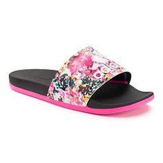 3d3b4e12661fb0 adidas Adilette SC+ Women s Floral Slide Sandals Adidas Sandals
