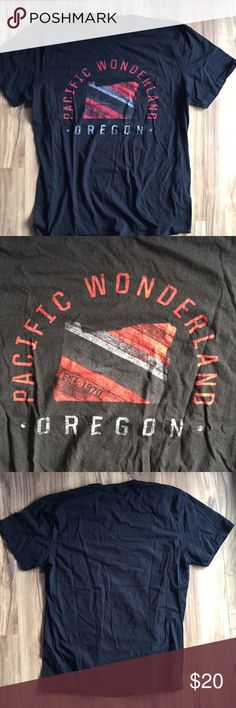 Portland Trail Blazers Pacific Wonderland No tags but never been worn the Concert Tees Shirts Tees - Short Sleeve
