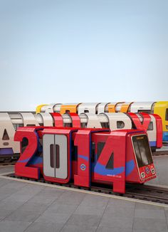 Striking Typographic Posters Announce New London Transport Fares - DesignTAXI.com