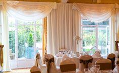 Our Glenview Suite! Our Wedding, Wedding Venues, Wedding Backdrops, Wedding Centerpieces, Centrepieces, Gypsophila, Valance Curtains, Elegant, Dreams