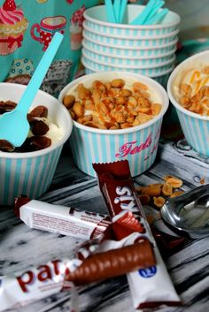 #leivojakoristele #droetker #jäätelöhaaste Kiitos @ Mia U. Cereal, Ice Cream, Cupcakes, Breakfast, Food, No Churn Ice Cream, Morning Coffee, Cupcake Cakes, Icecream Craft