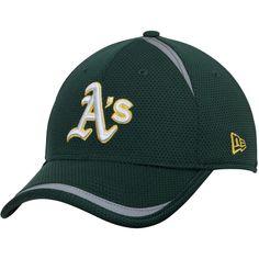 Oakland Athletics New Era Reflectaline 39THIRTY Flex Hat - Green - $27.99