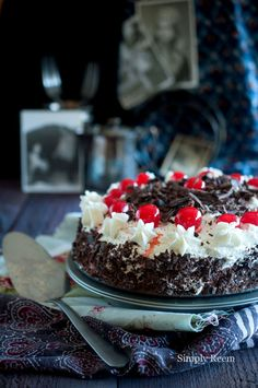 Black Forest Cake for a special occasion!