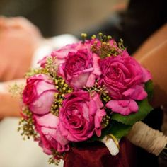 Ramo de novia de Rosas Rosa