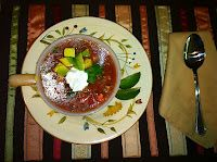 Pattycakes in the Kitchen: Gazpacho With a Texas Accent