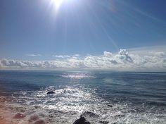 Carbon Beach, Malibu...just outside the Malibu Beach Inn.