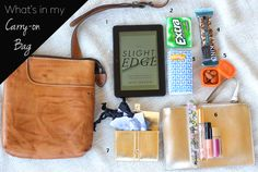 What's in My Carry-On Bag - Marionberry Style
