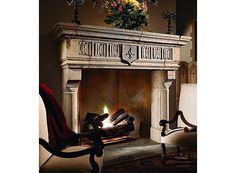 17th century fireplace design