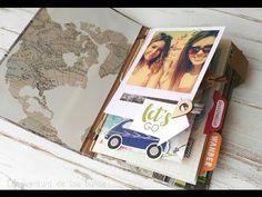 Tutorial para hacer encuadernación con palillos oculta para album scrap - Up&Scrap Blog Album Scrapbook, Book Binding, Book Making, Birthday Cards, Bullet Journal, Blog, How To Make, Crafts, Journal Ideas