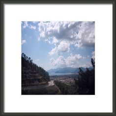 Descent Into Marmaris Framed Print By Tracey Harrington-simpson