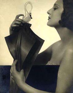 Woman with umbrella, c1920 (Studio Isabey, Paris)