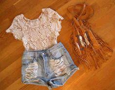 Shorts+lace