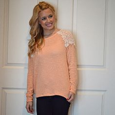 Orange Sherbet Sweater...
