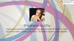 Mr. #MaheshMurthy represents the new class of #entrepreneurs who have taken off-beat and unconventional track to build their little empires. He will be there at the #IMA Conclave 2014 to grace the occasion and speak on the topic of the day!
