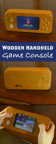 Wooden Handheld Console #retropie #raspberrypi