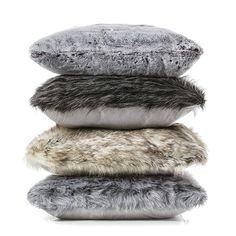 Montana Fur Smokey Black Cushion