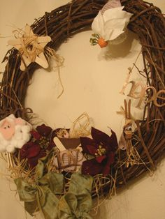 Set of Bible Craft Christmas Ornaments used in order to retell the Christmas story.