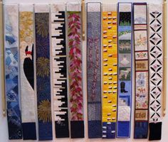 Finland long skinny mini quilts