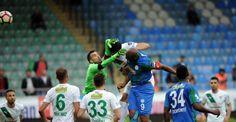 Çaykur Rizespor'dan Bursaspor'a gol yağmuru! 6-0