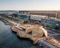 Public sauna opens as a timber-clad 'coastal park' on Helsinki waterfront
