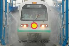 Rxsol Train Wash is Concentrated high performance non ionic cleaner formulated to remove traffic film, brake dust, dirt, grease and other similar soil from the bodywork of rail carriages. It is highly effective for both use in Automatic Brush Washes and for manual exterior cleaning. Click Link ::: http://dubichem.com/Train-Wash