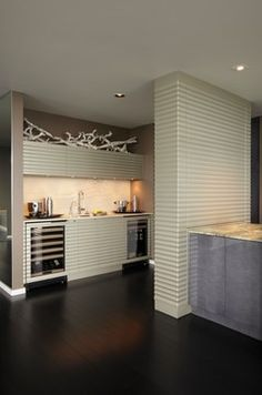 A New Point of View - contemporary - Kitchen - Portland - William Roy Designer Kitchens
