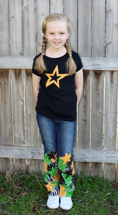 Had to make a STARS outfit for the games! Go STARS!