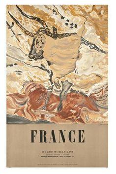 Lascaux, Livestock, Rock Art, Vintage World Maps, Painting, Cave, Cave Painting, Painting Art, Stone Art