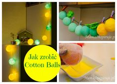 cotton balls tutorial